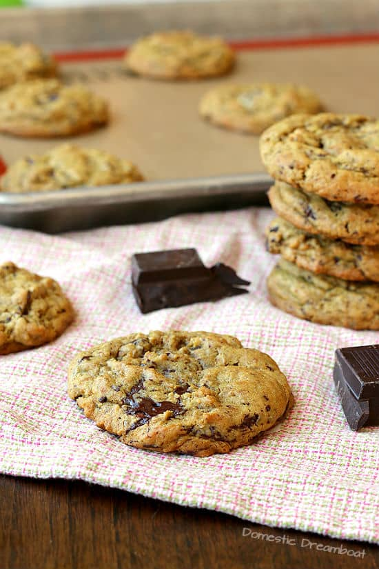 Lower Sugar Chocolate Chip Cookies - Sweetened naturally with Sucanat