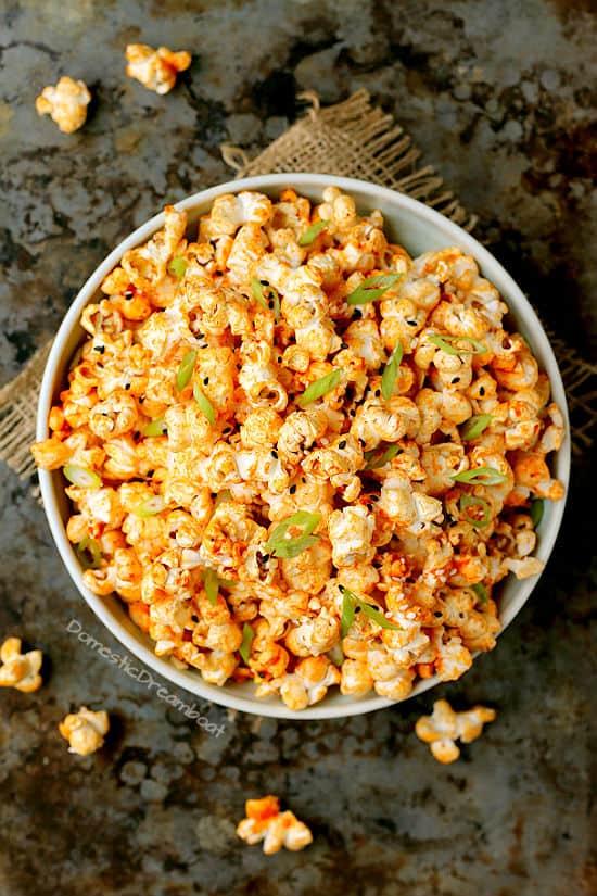 Gochujang Butter Popcorn