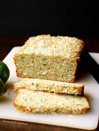 Coconut Lime Zucchini Bread