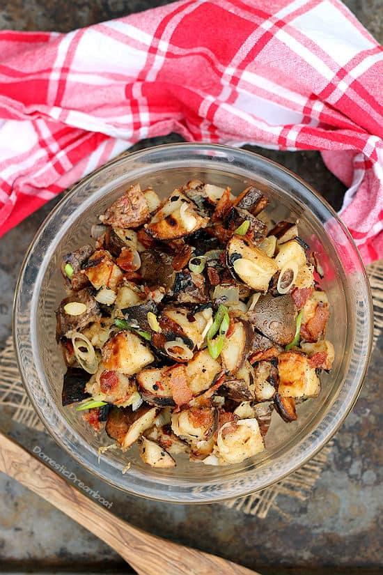 Smoky Chipotle Grilled Potato Salad