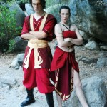 Avatar: The Last Airbender Cosplay in the Sequoia National Forest