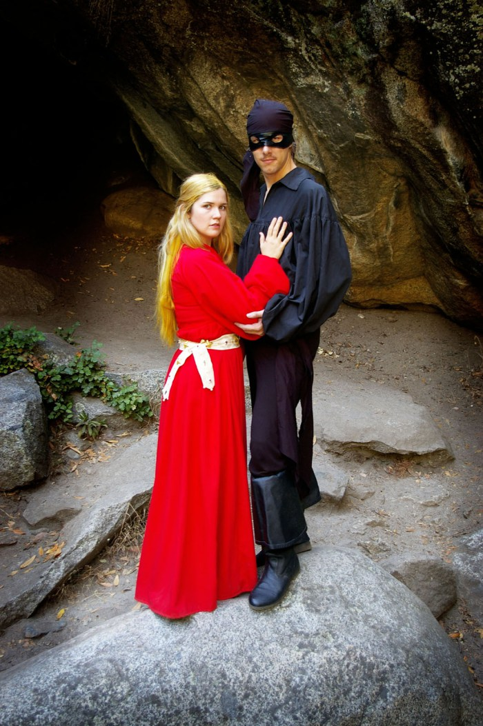 The Princess Bride Cosplay In Sequoia National Park Domestic Geek Girl