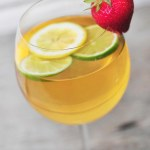 Fresh Citrus and Strawberry Sangria Recipe