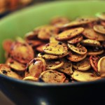 Japanese Style Sesame and Furikake Pumpkin Seeds