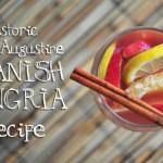 Saint Augustine Spanish Sangria