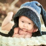 DIY Baby Pixie Hats from Old Sweaters