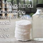 DIY Natural Detoxifying Himalayan Salt Facial Toner