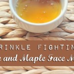 Wrinkle Fighting Aloe and Maple Face Mask