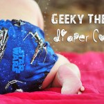 Star Wars and Marvel Comics Geeky Themed Diaper Covers
