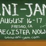 Pre-Register Now for Fresno's Ani-Jam 2014!