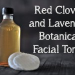 Red Clover and Lavender Botanical Facial Toner
