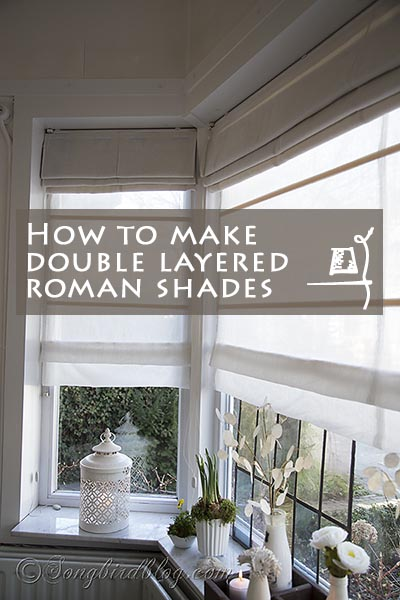 How-to-make-double-layered-roman-shades