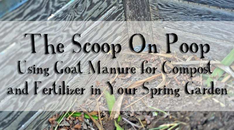 how to make fertilizer from goat manure