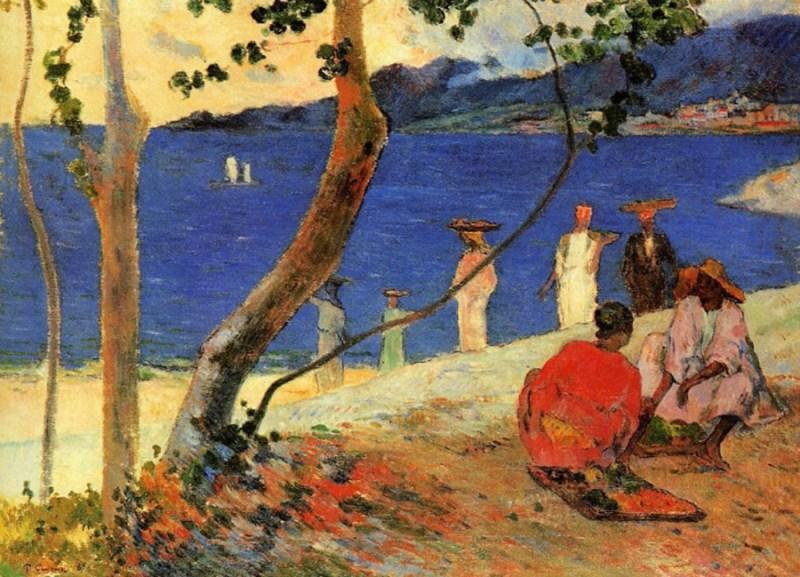 paul-gauguin-a-seashore-1887