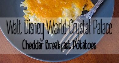 Walt Disney World Crystal Palace: Cheddar Breakfast Potatoes