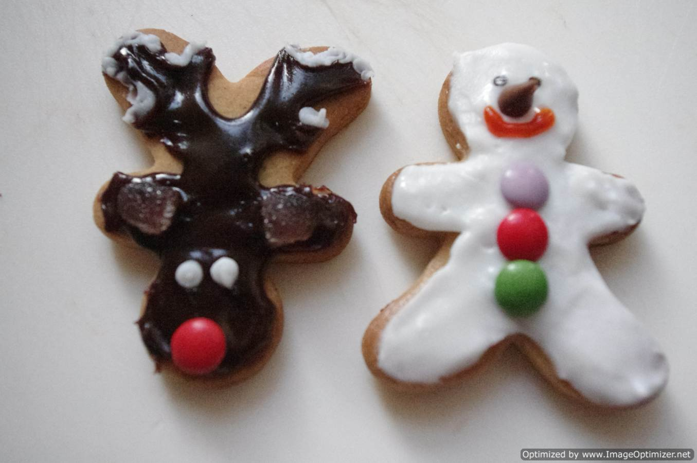 Reindeer Cookies And Gingerbread Men Domestic Goddesque