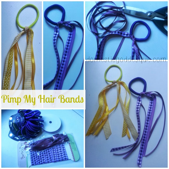 Back to School Hair Band Craft