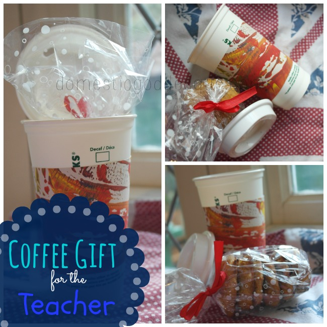 Christmas Coffee Gift for the Teacher