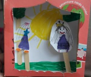 Cardboard Box Puppet Theatre