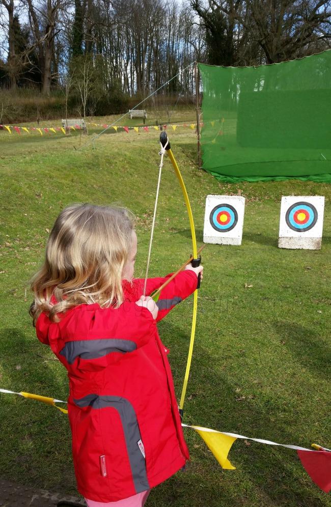 archery day out leeds castle kent