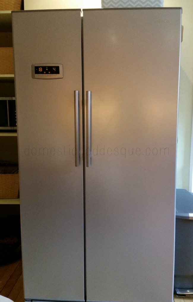 bare naked fridge