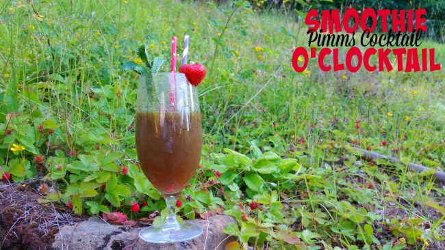 Smoothie O'Clocktail Pimms based smoothie cocktail
