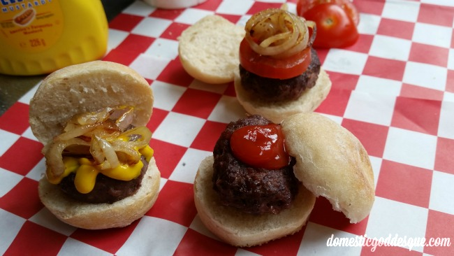 micro dough ball hamburgers