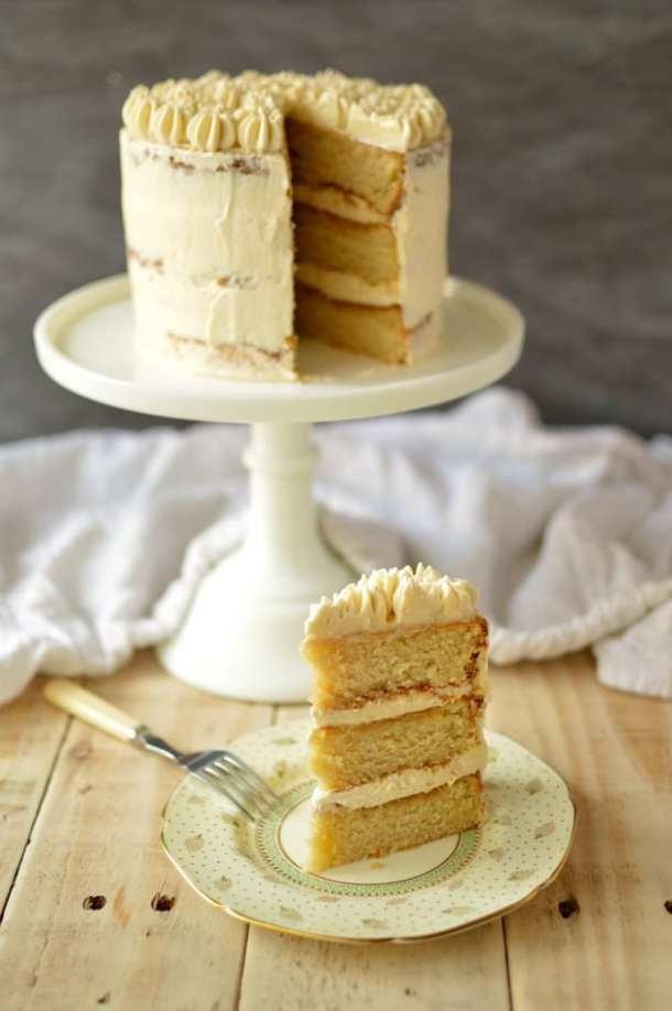 Very vanilla layer cake with ermine frosting - Domestic Gothess