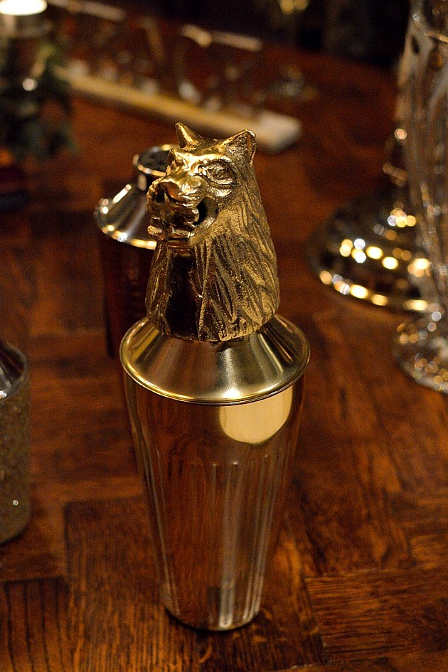 wolf cocktail shaker