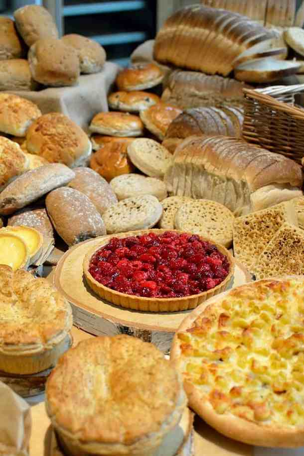 Iceland selection of baked goods