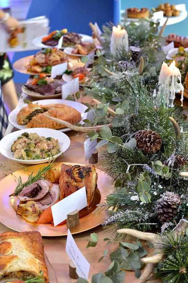 Iceland Christmas table