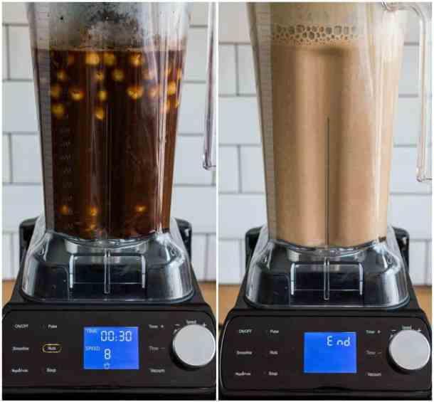 mocha hazelnut milk step 4