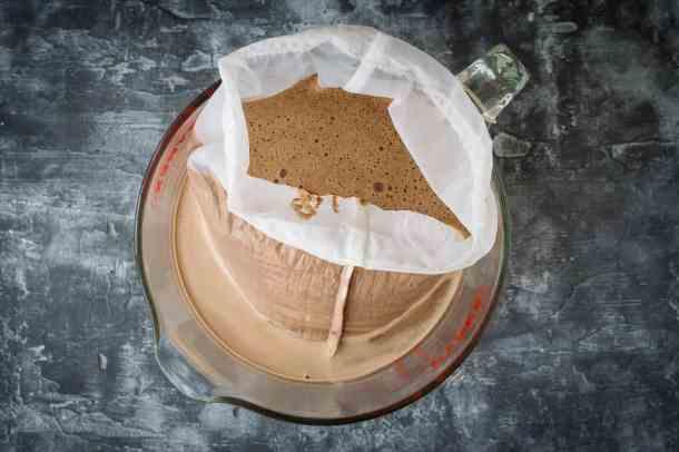 mocha hazelnut milk step 5