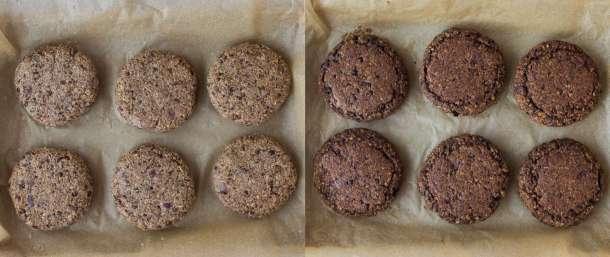 mushroom lentil burgers step 4