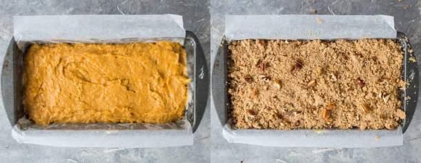 vegan sweet potato bread step 2