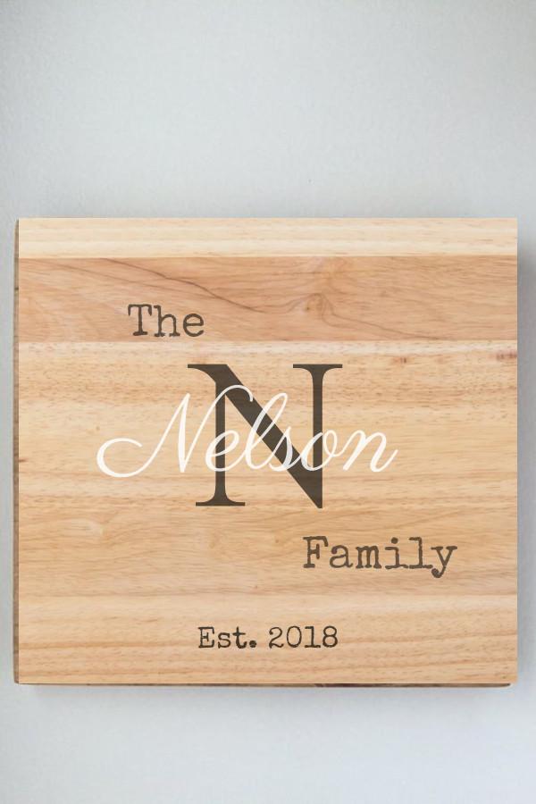 family established signs DIY
