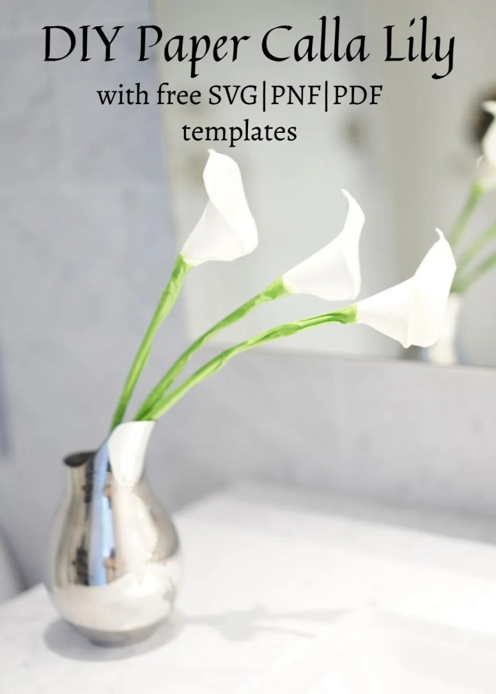 calla lily leaf template free pattern for paper calla lily foam flowers template