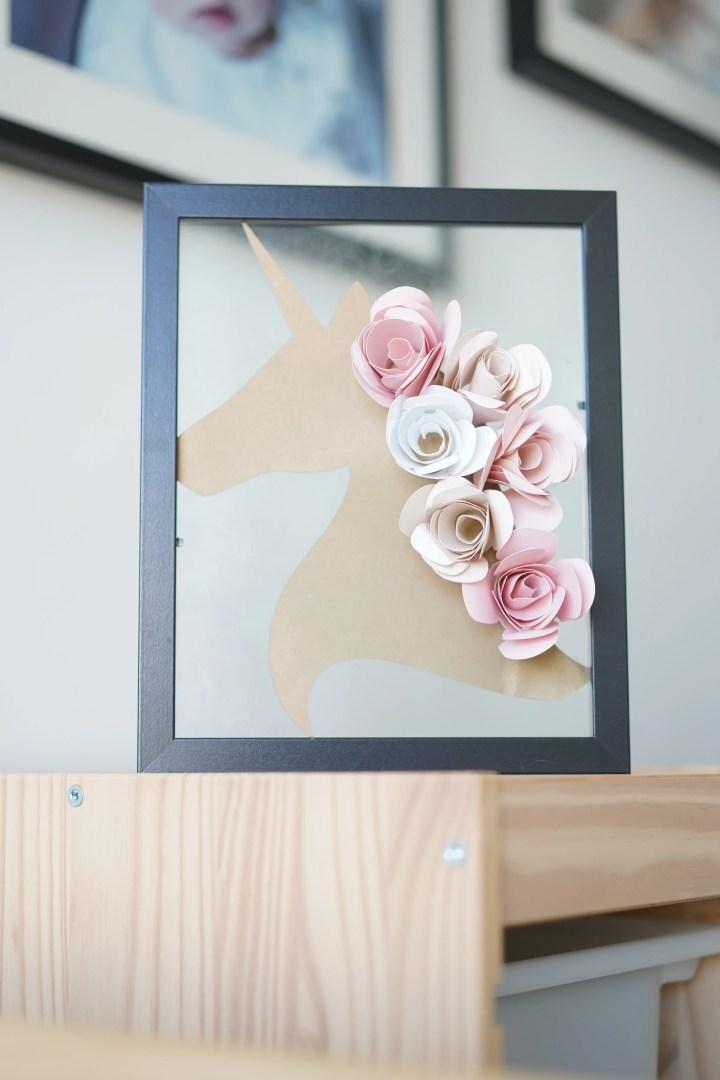 DIY Unicorn Centerpiece and Wall Decor