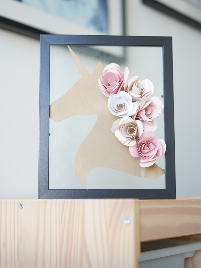 DIY unicorn decor