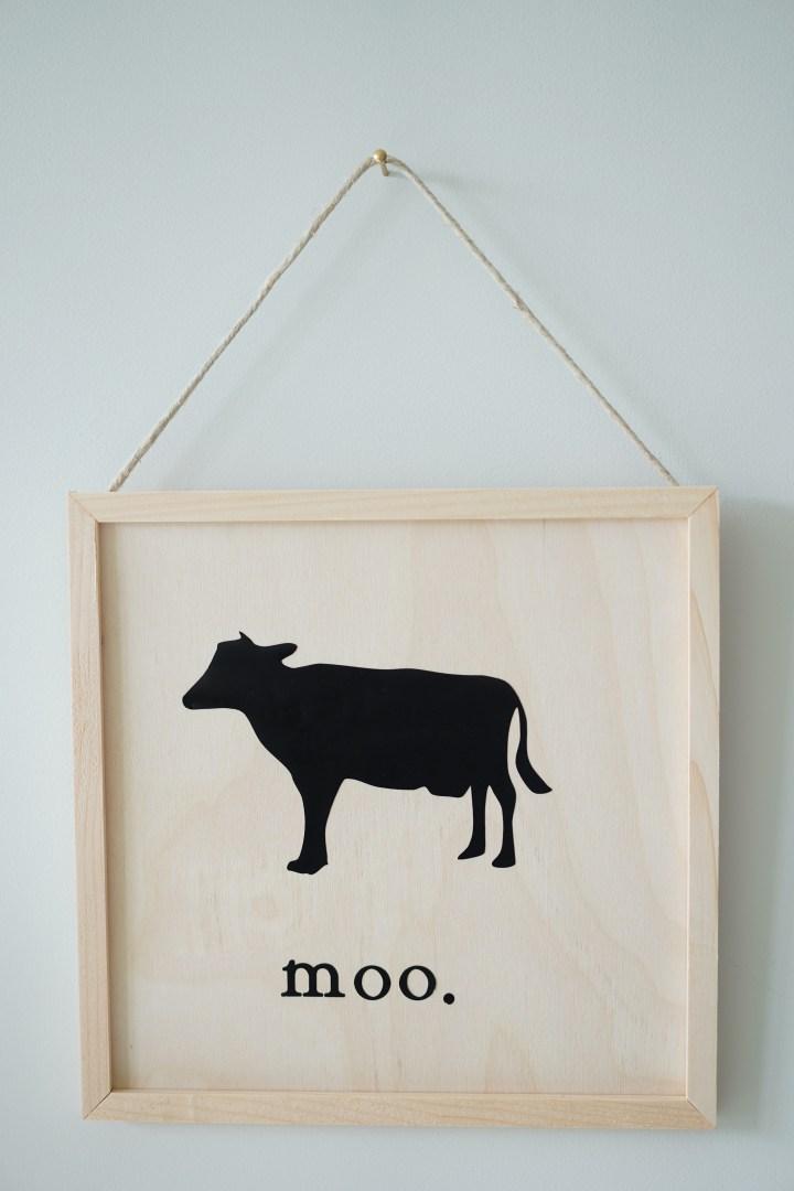 DIY Farm Animal Signs