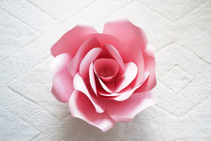 Giant Paper Flowers Template and Tutorial