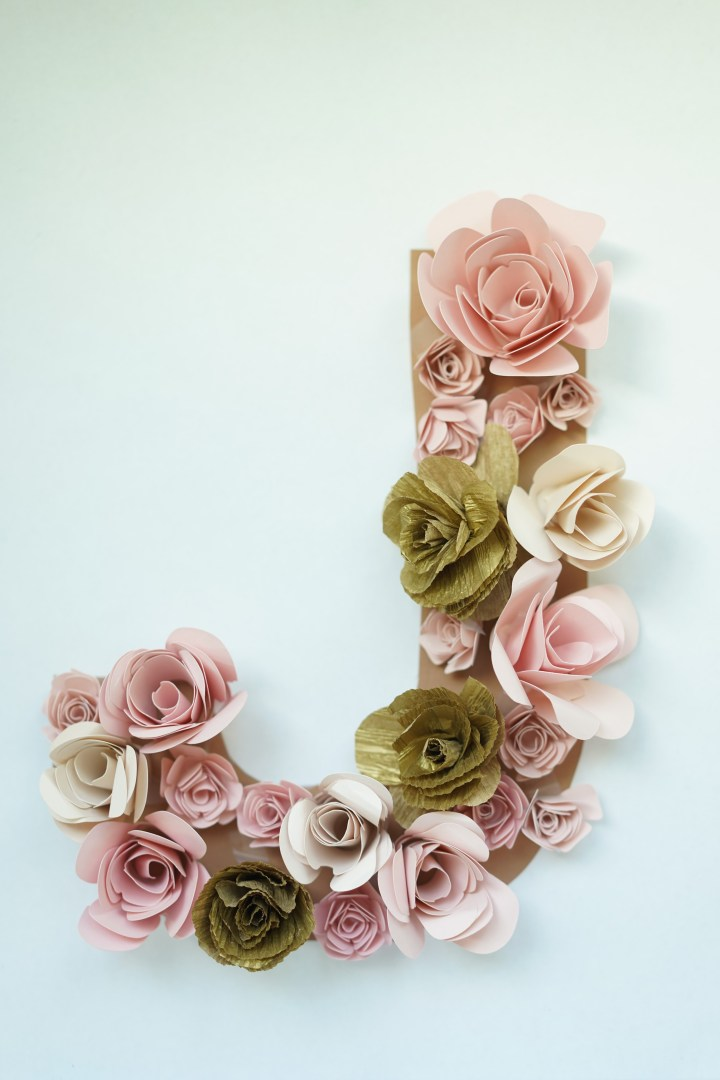 Floral Letters DIY