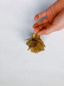 streamer paper flower