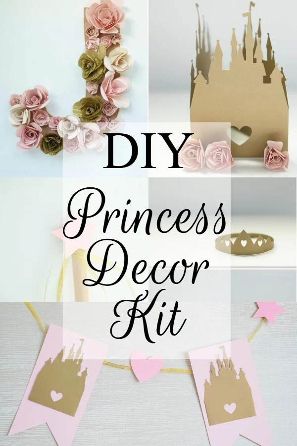 Diy Princess Party Decoration Crafts Ideas Domestic Heights