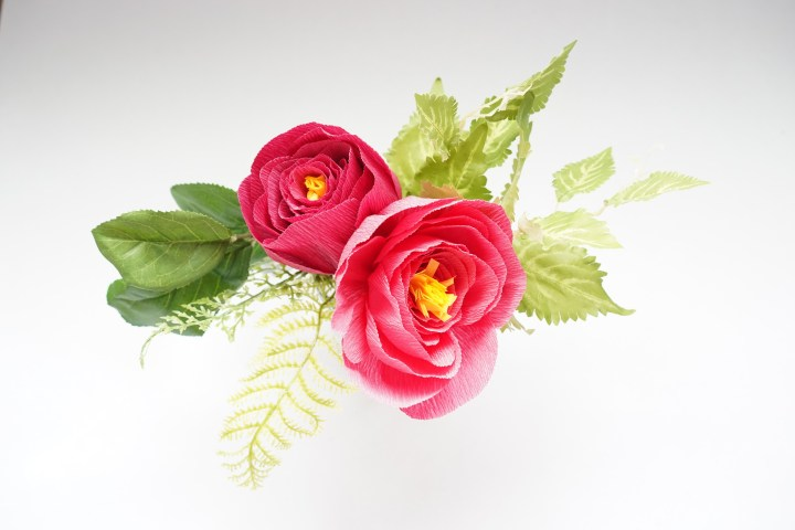 Easy Crepe Paper Peony Flower Tutorial