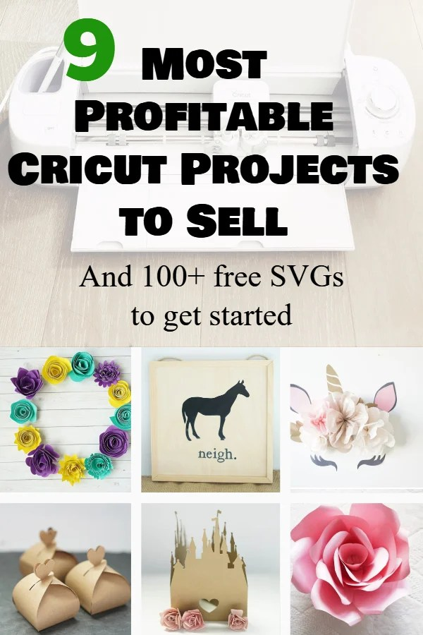 9 Most Profitable Cricut Projects to Sell