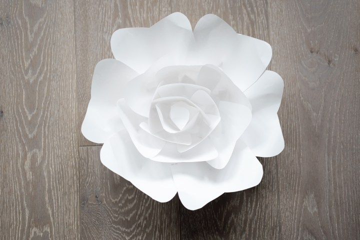 large paper flower template