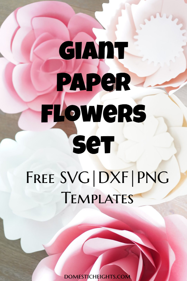 large paper flower templates