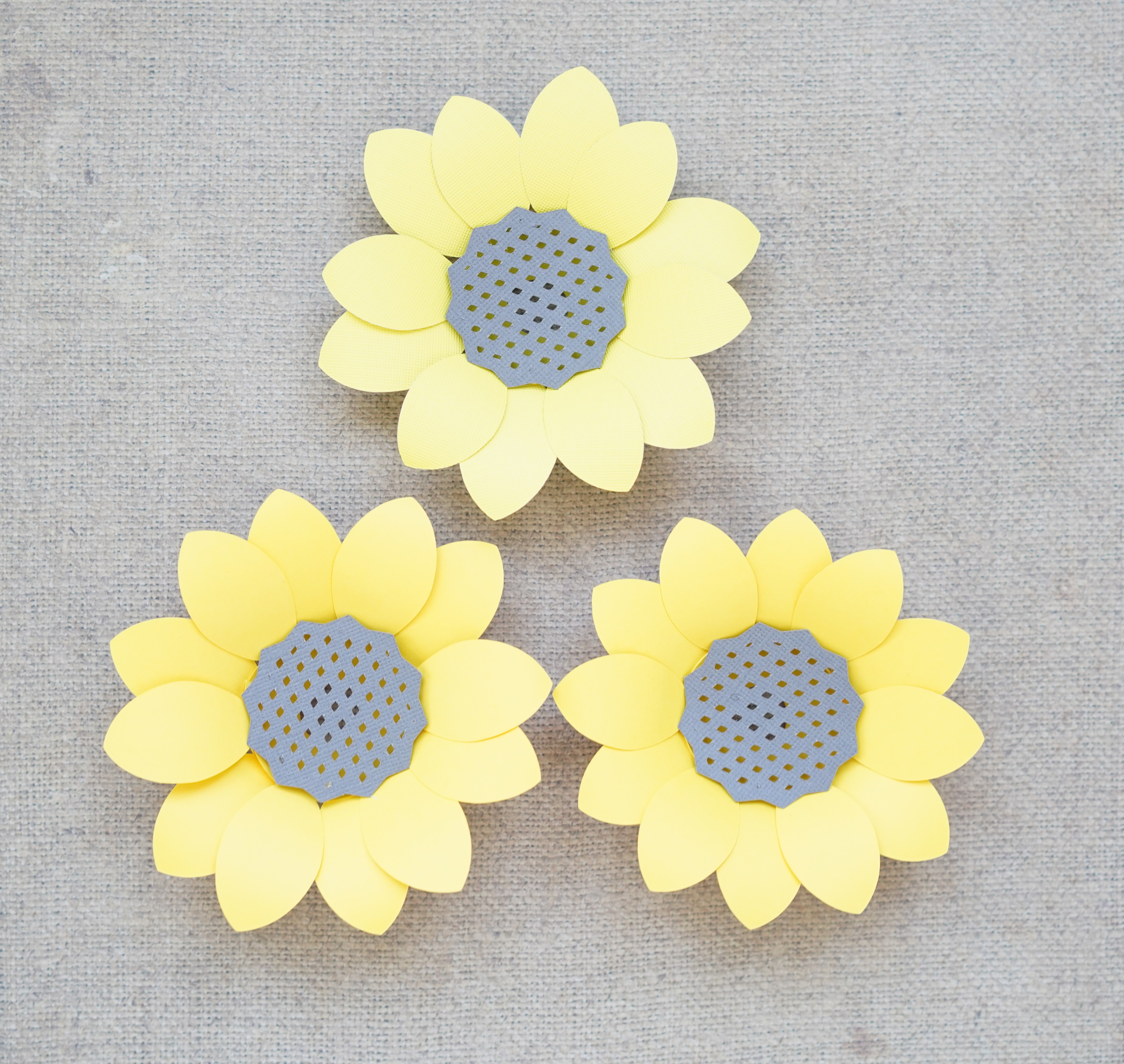 picture regarding Free Paper Templates referred to as Paper Sunflower Template - Cost-free SVG and Information - Home