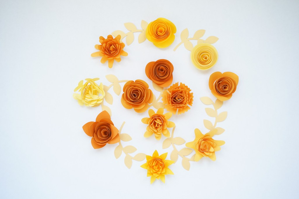 paper flower svg free
